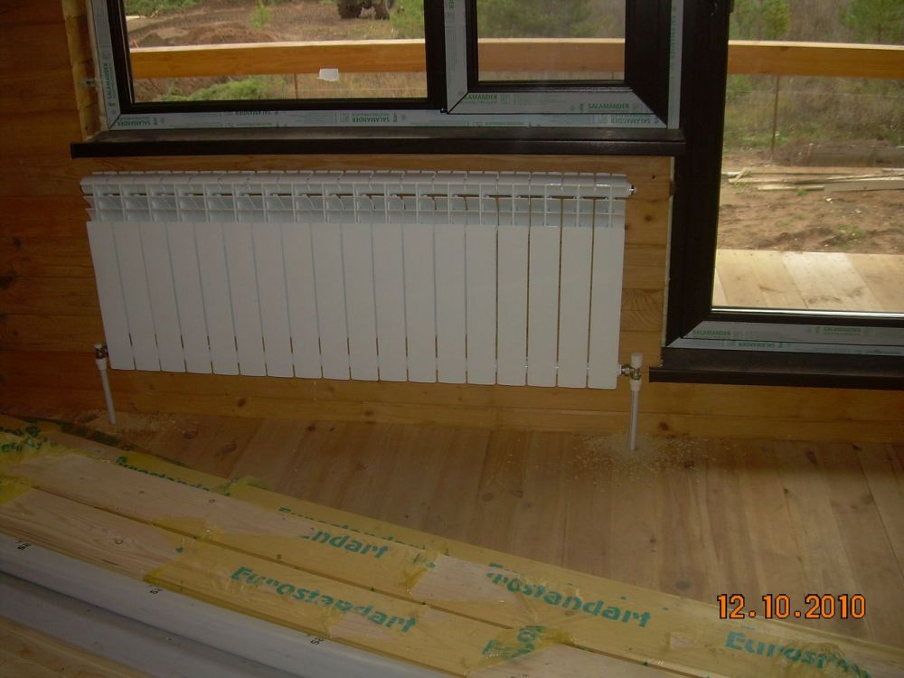 Установка радиаторов отопления своими руками в частном 977